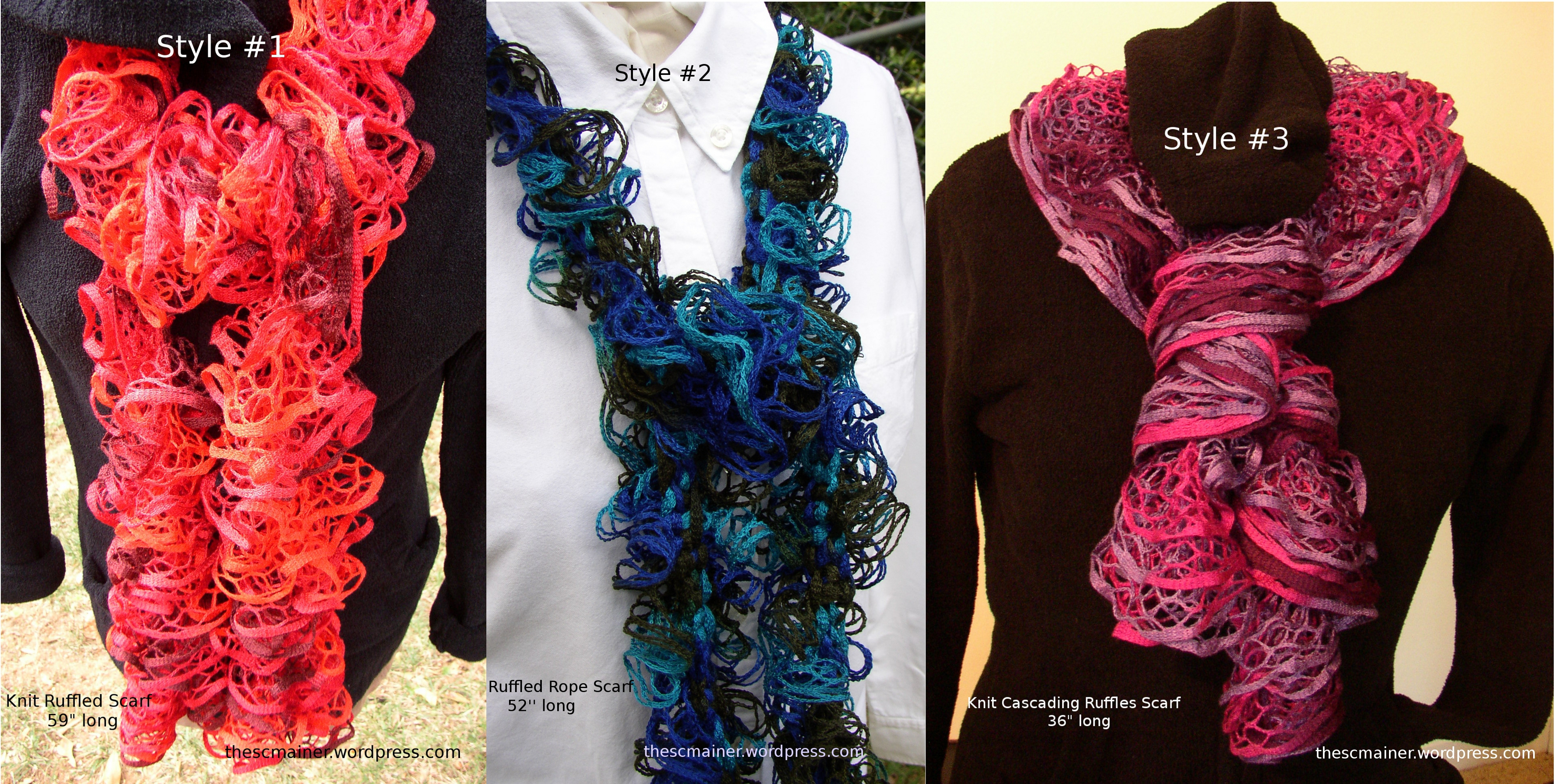 Project Knitted Scarf A Journey To Find A Passion
